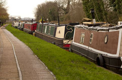Moorings all the Way out of Town. Royalty Free Stock Photo
