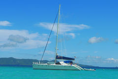 The Moorings charter yacht near Tortola, British Virgin Islands Stock Photos