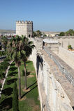 Moorish Alcazar in Jerez. Spain Royalty Free Stock Images