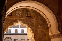 Moorish arch Stock Image