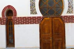 Moorish Arch Openning Gate Detail royalty free stock photo