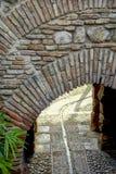 Moorish Arch in Spain Royalty Free Stock Photos