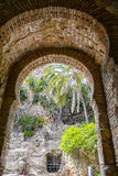 Moorish Arch in Spain Royalty Free Stock Images