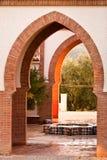 Moorish arches Royalty Free Stock Images