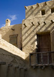 Moorish architecture. Low angle view of building showing Moorish architecture Stock Photography