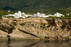 Moorish architecture in Ibiza Stock Photography