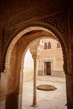 Moorish architecture in the Royalty Free Stock Images