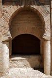 Moorish archway in church, Granada. Stock Images