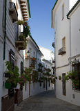 Moorish Barrio de la Villa. Priego de Cordoba, Andalusia, Spain Stock Image