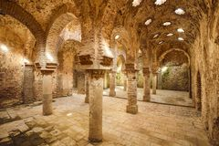 Moorish Baths Royalty Free Stock Photo
