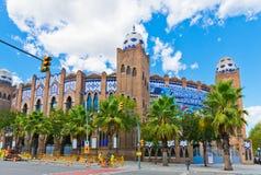 Moorish bizantin de La d'arène de Barcelone et mudejar monumental s Photographie stock