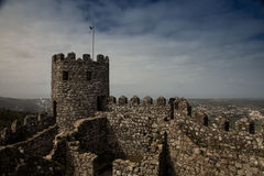 Moorish castle Royalty Free Stock Image