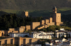 Moorish castle in Antequera, Spain Royalty Free Stock Images