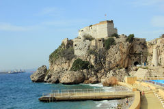 Moorish Castle, Gibraltar Stock Photography