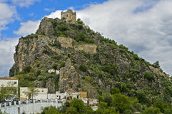 Moorish castle on a hill Stock Photography