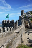 Moorish castle in the municipality of Sintra. About 25km northwest of Lisbon, Portugal Royalty Free Stock Photography