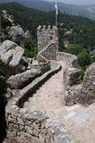 Moorish castle in Sintra Stock Photography