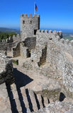Moorish castle in Sintra, Portugal Royalty Free Stock Photography