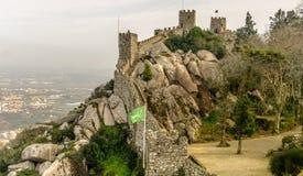Moorish Castle View Royalty Free Stock Image