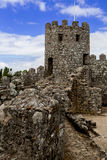 Moorish castle - Sintra, Portugal Stock Photography