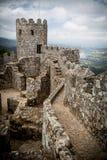 Moorish castle - Sintra, Portugal Royalty Free Stock Image