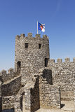 Moorish Castle Tower. West tower of the Moorish Castle in Sintra, Portugal Royalty Free Stock Image