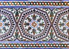 Moorish ceramic tiles Stock Photo