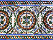 Moorish ceramic tiles Royalty Free Stock Image