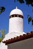Moorish Chimney in Alentejo Stock Image