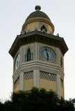 Moorish Clock Tower in Ecuador Stock Images
