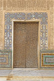 Moorish door Stock Image