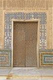 Moorish door Stock Image