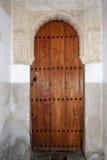 Moorish doorway, Alhambra Palace. Royalty Free Stock Image