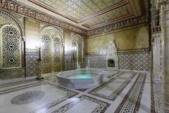 Moorish drawing room of Yusupov palace in St. Petersburg, Russia Royalty Free Stock Image