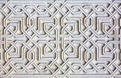 Moorish facade ornament Stock Photo