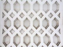 Moorish facade ornament. Closeup of plaster wall Royalty Free Stock Photography