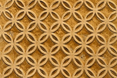 Moorish floral wall decoration Stock Image