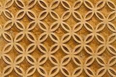 Moorish floral wall decoration stock image