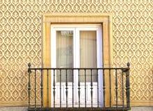 Moorish floral wall decoration. Royalty Free Stock Photo