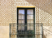 Moorish floral wall decoration. Royalty Free Stock Photos