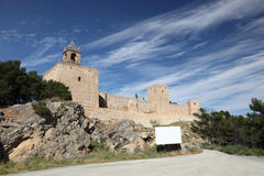 Moorish fortress in Antequera, Spain Royalty Free Stock Images
