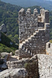 The moorish fortress in Portugal Royalty Free Stock Images