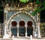 Moorish fountain, Sintra (Portugal) Stock Images