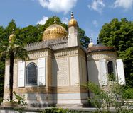 Moorish house in the castle grounds preferred by Ludwig II in Bavaria (Germany) Stock Images