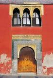 A moorish house in Cordoba, Spain Royalty Free Stock Photo