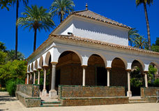 Moorish influences in architecture in Seville Royalty Free Stock Image