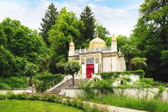 The Moorish kiosk in Linderhof Palace. Royalty Free Stock Photography