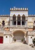 Moorish mansion. Villa sticchi, a moorish house in santa cesarea terme, italy Stock Photos