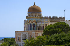 Moorish mansion Royalty Free Stock Photos