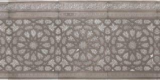 Moorish Metal Pattern. An ornate metal pattern in Moorish style royalty free stock image